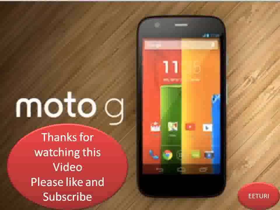 Moto G Black Screen Issue -How to Fix