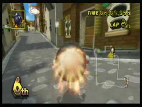 Mario Kart Wii Race Wich Mr Bean And Anothers