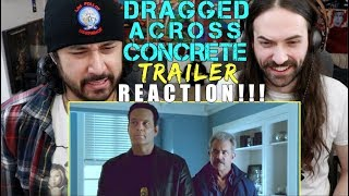 DRAGGED ACROSS CONCRETE - Official TRAILER REACTION!!!