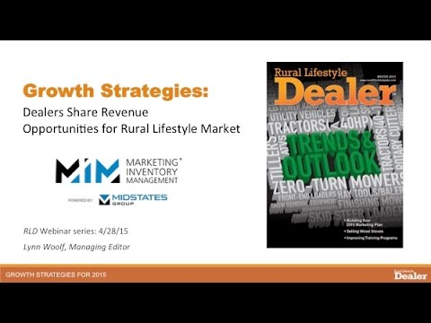 Growth Strategies Webinar: Dealers Share Revenue Opportunities for Rural Lifestyle Market