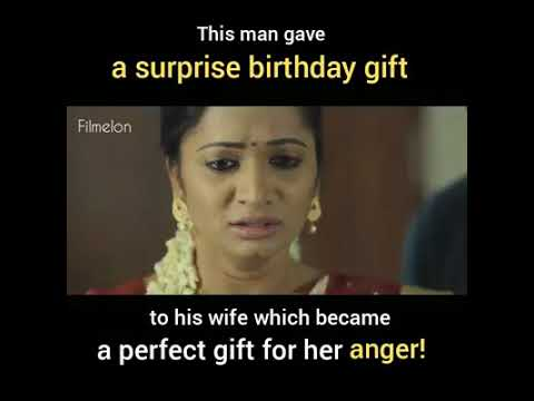48b56c01bd15 Husband s birthday surprise gift to his anger Wife will bring you tears.
