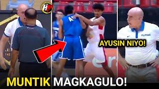 Coach TAB SINIGAWAN si Ref! MUNTIK ng MAGKAGULO! Gilas vs Tunisia FULL GAME HIGHLIGHTS!