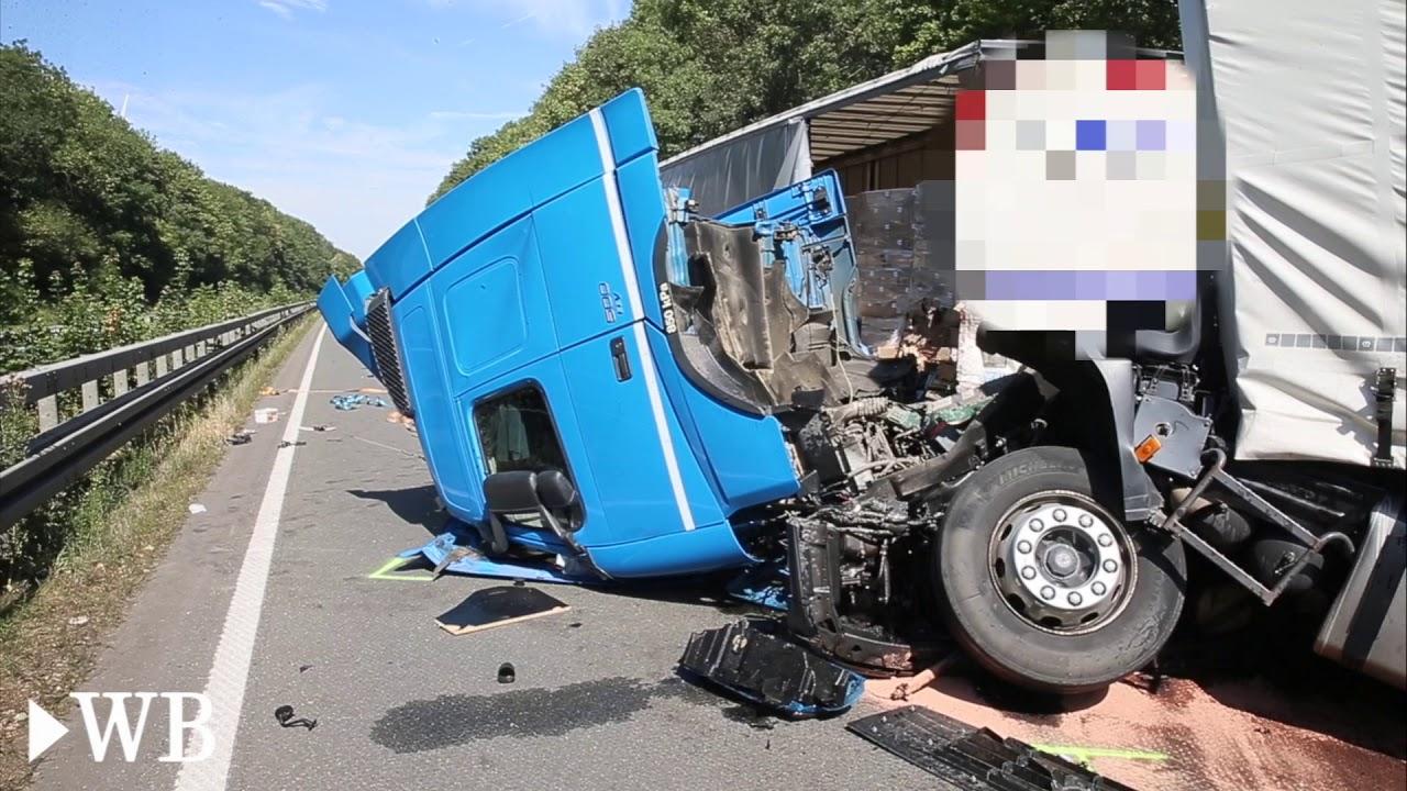 Unfall A44 Lichtenau