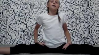 Как сесть на поперечный шпагат/видео урок