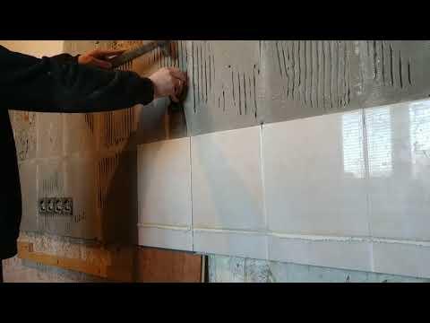 Как удалить плитку со стены