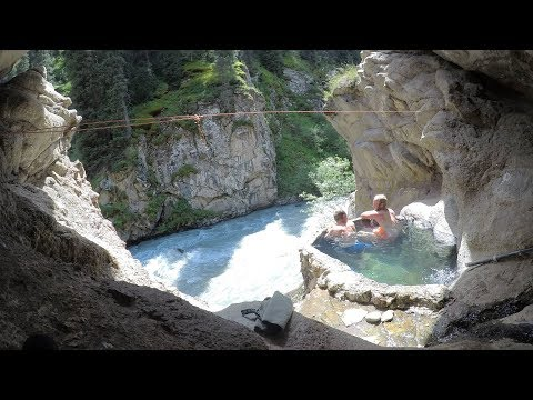 Amazing Secret Hot Springs  |  Kyrgyzstan Travel Vlog