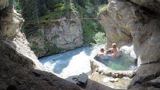 Amazing Secret Hot Springs  |  Kyrgyzstan Travel Vlog