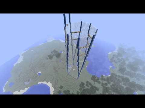 Minecraft Skyscraper: One World Trade Center Timelapse