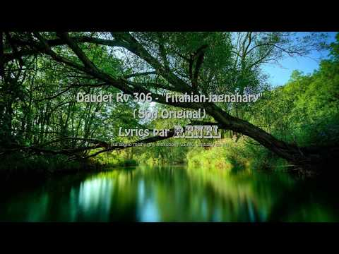 Daudet Rv 306 - Fitahian-jagnahary Lyrics (Son Original)