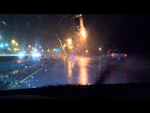 Driving Through a Squall Line - From Philadelphia to New Jersey