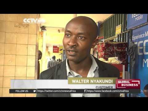 Entrepreneur in Kenya profits from banana snacks and bread