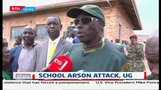 11 boys perish and 12 others injured in Uganda school fire