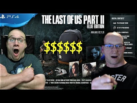 HOW MUCH MONEY!? The Last Of Us Part 2 Ellie Edition BREAKDOWN AND REVIEW!