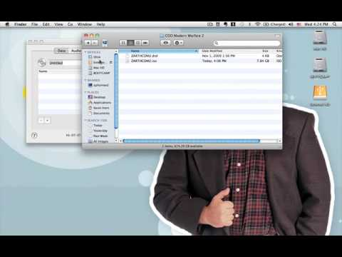 How To Use BitTorrent And Burn DVD (mac)