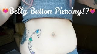 About My BellyButton Piercing!