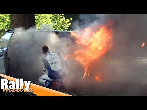 Ypres Rally 2019 - Fire and crash! - Best of by Rallymedia