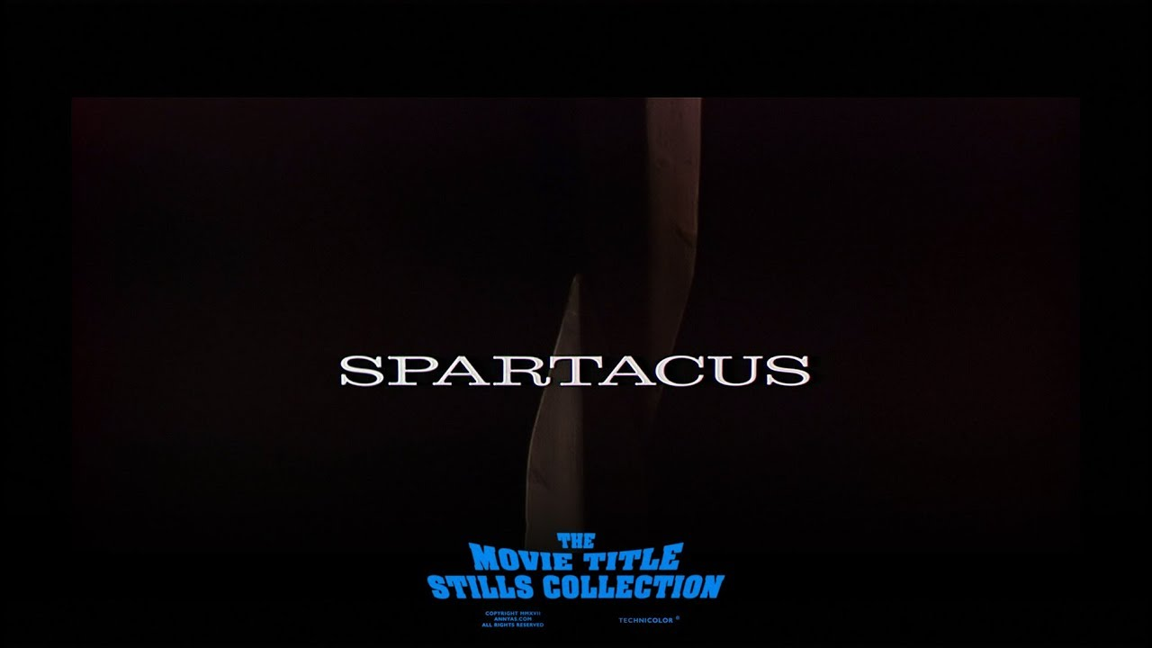 Saul Bass title sequence - Spartacus (1960) - YouTube