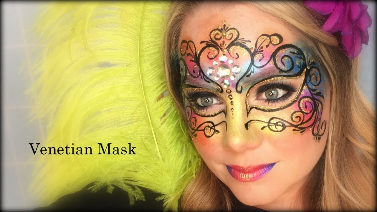 Face Painting For Masquerade Ball