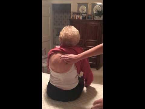 Sarah Cox physical assessment