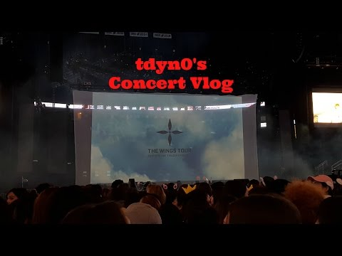 BTS 2017 WINGS USA TOUR EPISODE 3 VLOG! NEW JERSEY CONCERT!