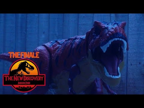 The New Discovery: Jurassic Park (Toy Movie REMAKE) Part 6/6