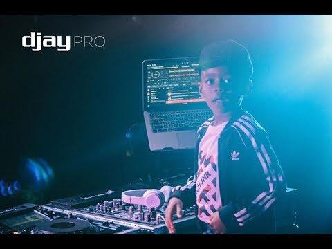 DJ Arch Jnr Performing Live At Mega Sound Picnic in Swaziland