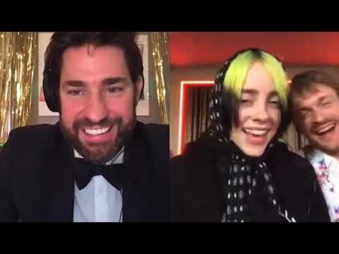 Billie Eilish & Finneas Interview + Bad Guy Performance On John Krasinski's Some Good News