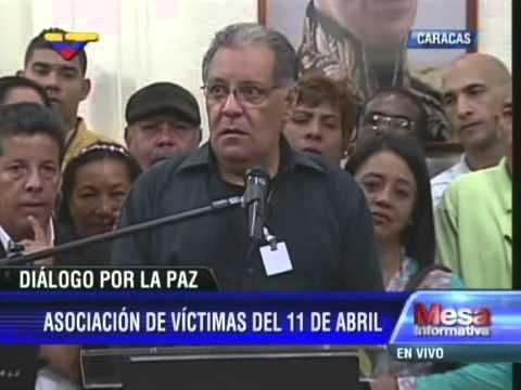 Tercer Diálogo Gobierno-Oposición: Hablan víctimas 11-A y Vicepresidente Arreaza