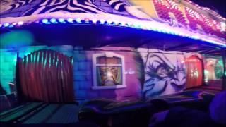 Halloween-Rasch onride ghost train horror trip Wintertraum am Alexa Berlin 2015 Kirmes kermis