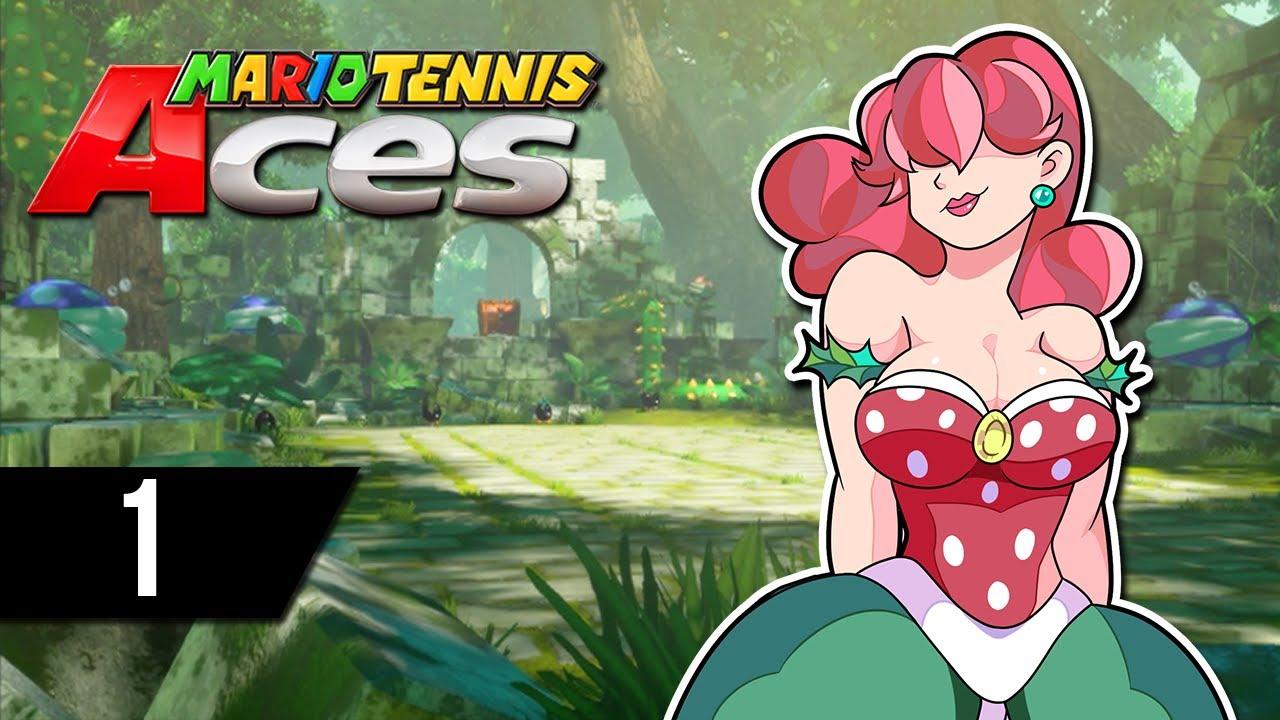 El príncipe del Tenis - Mario Tennis Aces: Parte 1