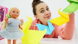 Поделки своими руками: гирлянда-оригами для комнаты Штеффи