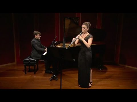 Claire Brazeau and Richard Valitutto: Poulenc Sonata for Oboe and Piano