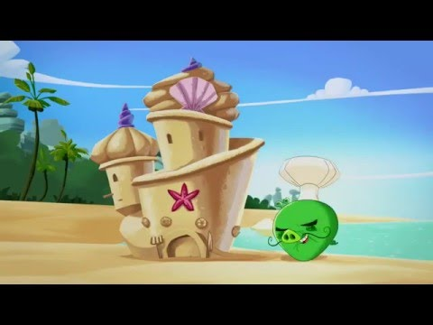 Злые птички - Энгри Бердс - Король замка (S1E34) || Angry Birds Toons