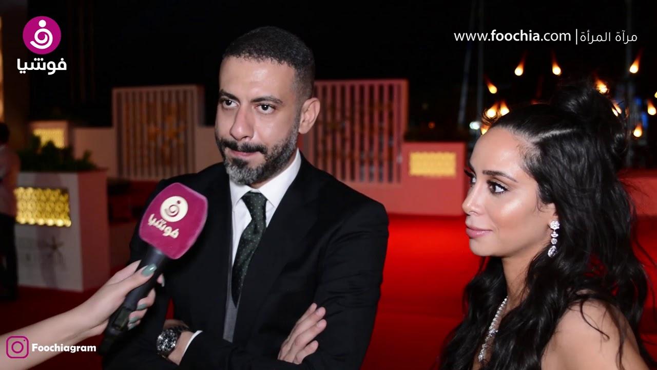 محمد فراج يكشف كواليس إعلان خطوبته في افتتاح مهرجان الجونة.. وبسنت: الخبر أزعج معجباته