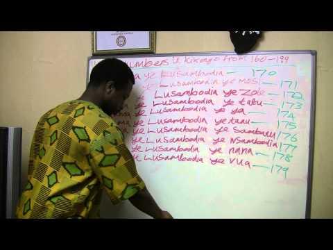 NUMBERS IN KIKONGO FROM 160-199