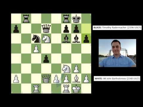 Twin Ports Open [Round 2]: IM Bartholomew vs. Tim Radermacher