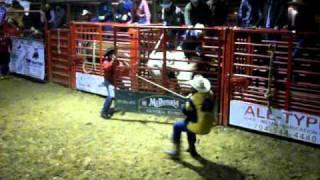 Matt Benfield 1-8-2011 Circle K bull branded 69