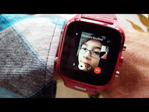 Connecte SmartWatch Facebook Video Call Messenger Wi-Fi Or Sim Card