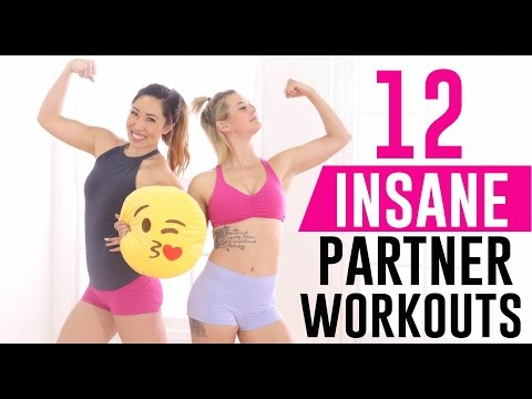 12 INSANE Partner Exercises You've Never Seen with Lauren Froderman!