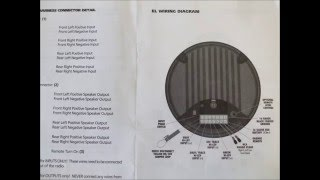 Bazooka powered sub woofer wiring schematics - YouTubeYouTube