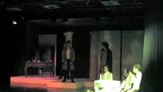 Oedipus Rex, Scenes A through 2