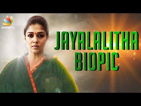 Nayanthara to Portray Jayalalitha On-Screen ? | A.L.Vijay Movie, Biopic | Hot Tamil Cinema News thumbnail