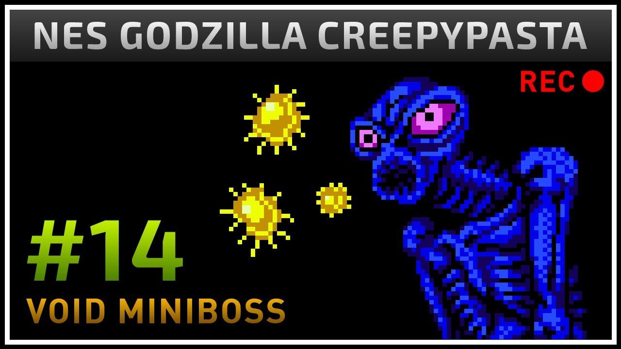 Nes Godzilla Creepypasta Gamedev 14 Void Miniboss Pathos Youtube