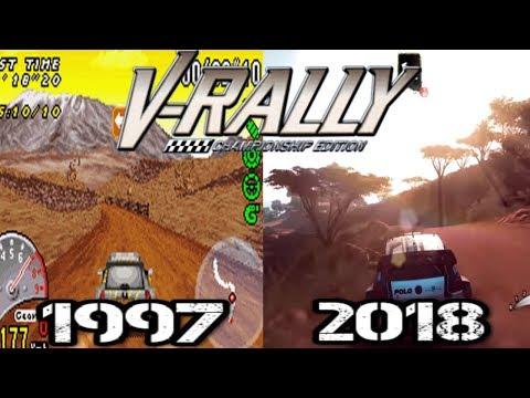 Evolucion De V-Rally (1997 - 2018) Evolution Of V-Rally (Juegos De Rally)