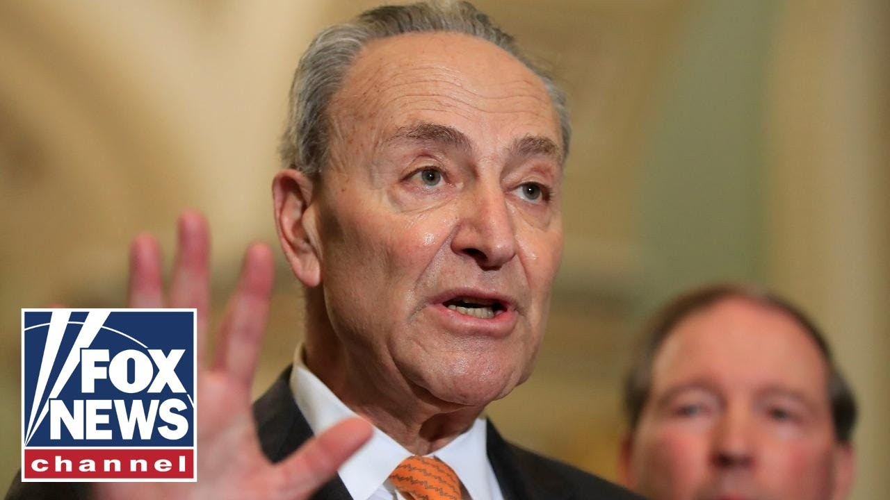 Schumer hits back at McConnell: We're trying to get things done