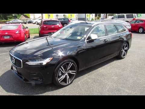 2018 Volvo V90 T5 FWD R-Design Walkaround, Start up, Tour and Overview