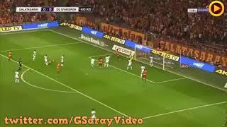 Galatasaray-Sivas TOLGA CİĞERCİ MUKEMMEL BİR GOLL