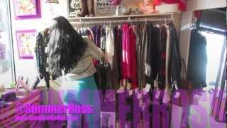 SHOPPING!!! ( VINTAGE AND THRIFTING W/ MUSIC ARTIST SUMMER ROSS)