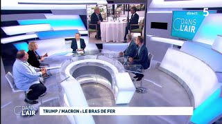 Macron/Trump : Le bras de fer #cdanslair 24.08.2019