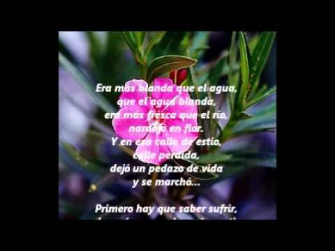 Naranjo en flor - con letras. Enrique Rodriguez